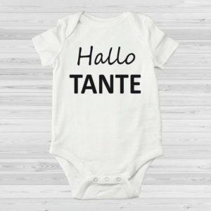 Hallo tante zwangerschapsaankondiging rompertje(1)