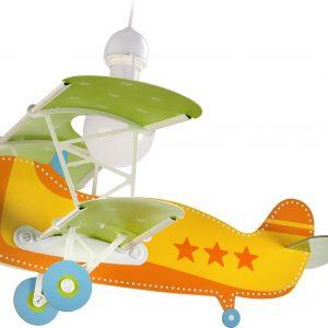 Hanglamp Vliegtuig Baby Plane Orange