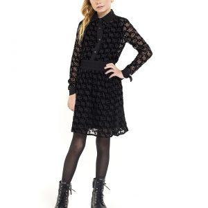 Jacky Luxury Meisjes rok - Zwart