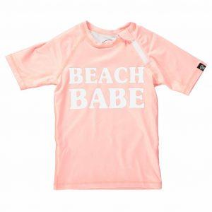 UV zwemshirt Beach Babe Roze