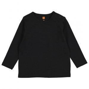 HEMA Baby T-shirt Met Bamboe Zwart (zwart)
