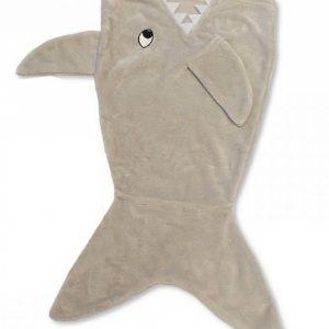 Snuggle Baby babydeken haaienstaart 45 x 75 cm