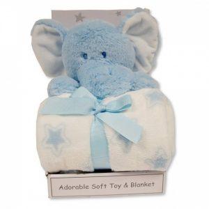 Snuggle Baby babydeken met knuffel 25 cm licht