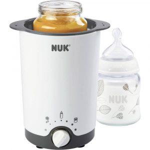 NUK Thermo 3in 1 Babyvoedsel verwarmer Wit, Zwart