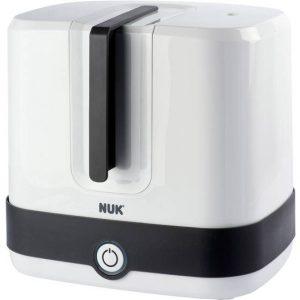 NUK Vario Express Dampf Sterilisator Babyflessterilisator Wit, Zwart