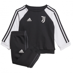 Juventus 3S Joggingspak Baby 2021-2022 - Maat 62 - Kleur: Zwart | Soccerfanshop