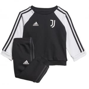 Juventus 3S Joggingspak Baby 2021-2022 - Maat 80 - Kleur: Zwart | Soccerfanshop